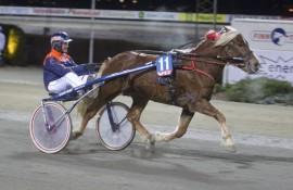 Klarer Briskeby Rauen og Olav Mikkelborg å runde alle i V76-finalen på Bjerke onsdag? (foto: hesteguiden.com)