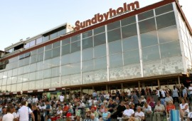 Der er minusgrader og ulovlig å kjøre skoløs på Sundyholm i dag