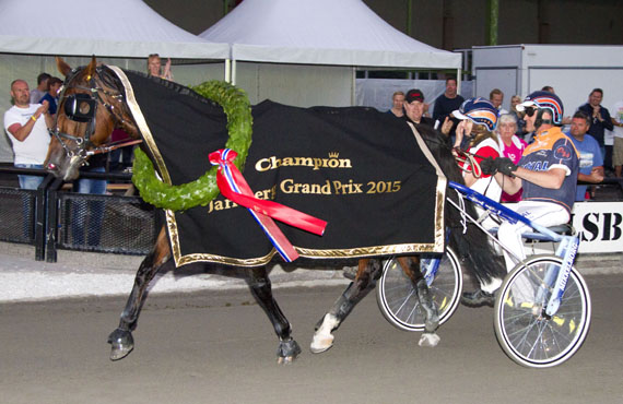 Victory Lap har allerede vunnet JGP i år, men Olav Mikkelborg er nok lysten på mer laurbær.