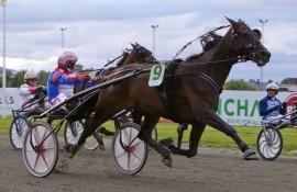 Kan Patricia Hastrup og Per Oleg Midtfjeld lure Hamres storfavoritt nok en gang?  (foto: hesteguiden.com)