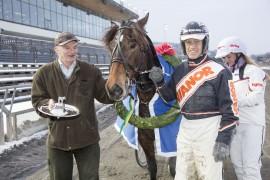 Lannem Silje tok seg av Laumbløpet i fjor – tar en hoppe fatet for tredje år på rad lørdag? (foto: hesteguiden.com)