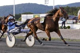 Har Frode Hamre og Denise F. Boko full kontroll selv fra tillegg i V76-1 i kveld? (alle foto: hesteguiden.com)