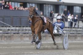 Denise F. Boko og Frode Hamre blir store favoritter i V76-innledningen onsdag (foto: hesteguiden.com)