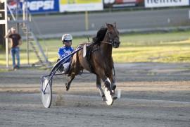 Björn Goop kommer med Kriterievinner El Toro B.R. til Habibs minnesløp på Klosterskogen påskeaften (foto: hesteguiden.com)
