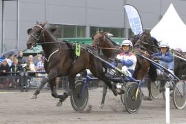 Escape Boko og Lars Anvar Kolle vant i overbevisende stil på Jarlsberg i sommer (foto: hesteguiden.com)