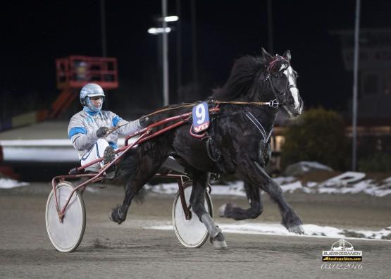 Vinnermaskinen står uten seier i raden  – kan hesten til  Jan Martin Bjering ta årets sjette i V76-finalen onsdag? (foto: hesteguiden.com)