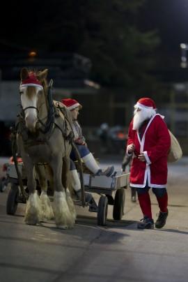 3. juledag er det romjuls-V75 på Momarken  – dukker nissen opp tro? (foto: hesteguiden.com)