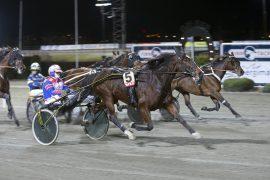 Blir Wallevik-traveren In Håleryd og fast sjåfør Per Oleg Midtfjeld den første V75 Bonus-vinneren når Bjerke får nytt spillprodukt kommende onsdag? (foto: hesteguiden.com)