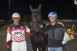 Slitesterke Gigant Invalley har vunnet minst fire løp hver sesong siden han var tre – årsdebuterer niåringen til Truls Desserud med seier for Gunnar Austevoll i V75-1 på Bjerke onsdag? (foto: hesteguiden.com)